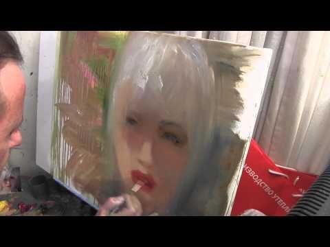 Научиться рисовать портрет, Игорь Сахаров, живопись для начинающих, уроки рисования - YouTube