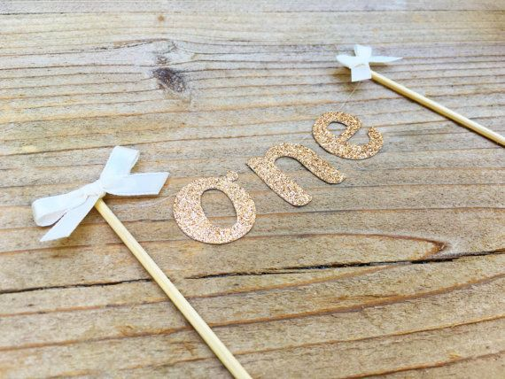 This sweet cake topper would be perfect for a smash cake, first birthday and more! Each banner is hand threaded on silver metallic thread and