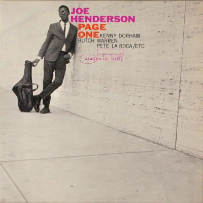 Page One. Just one of the many great albums by Joe Henderson. Cover design by Reid Miles.
