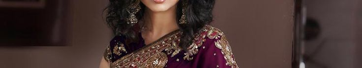 Wine Faux Georgette Saree with Blouse Online Shopping: SLSSK4800