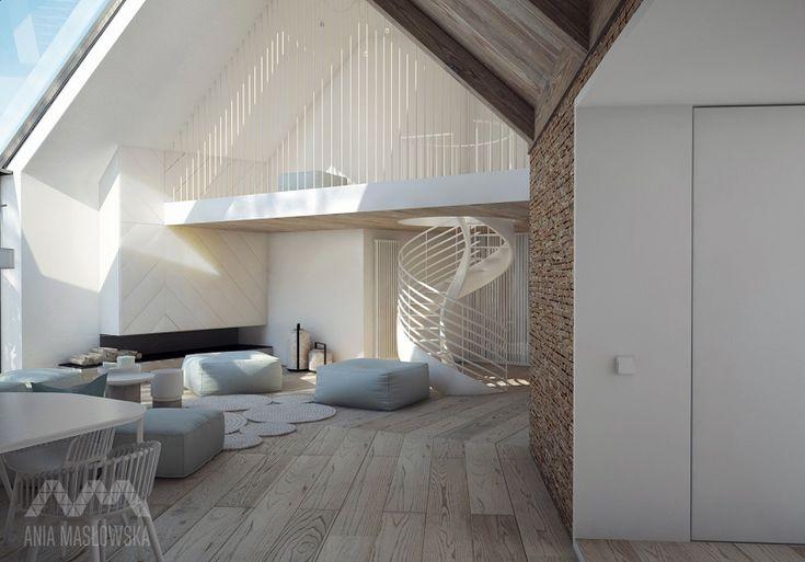 projekt wnętrz domu pod Białymstokiem