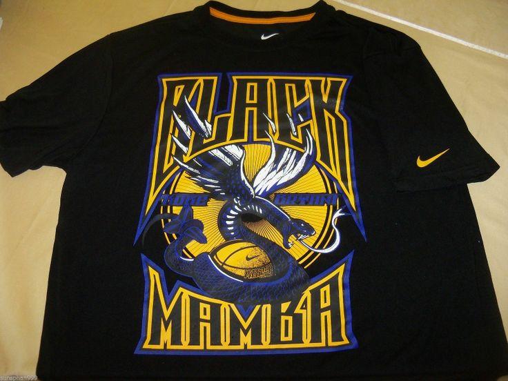 La Los Angeles Lakers Nba T Shirt L Nike Dri Fit Kobe
