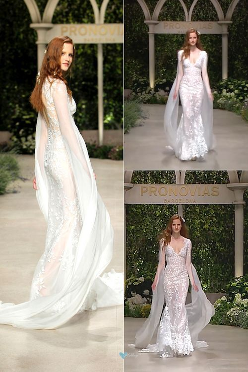pronovias 2019 directo desde el barcelona bridal fashion week