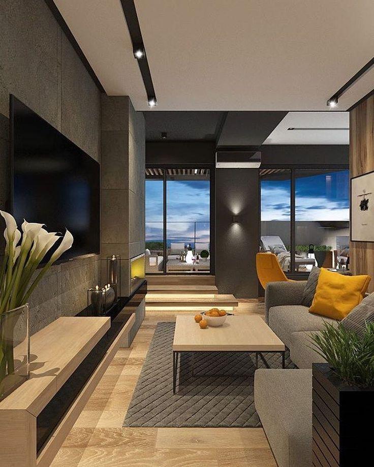 15 Modern Living Room Ideas: 15.3 Mil Curtidas, 51 Comentários