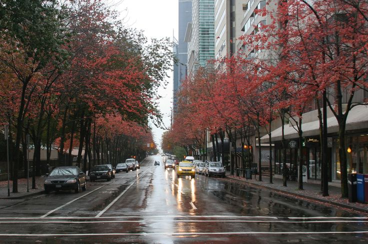 Robson Street Vancouver