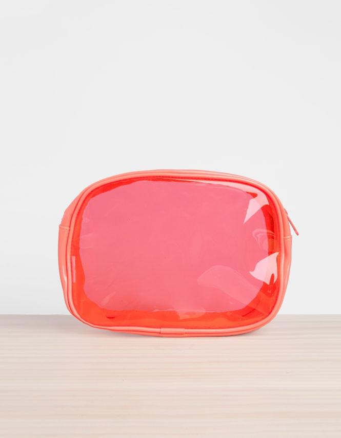 Oysho Transparent cosmetics bag #bag