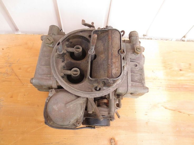 4 BBL HOLLEY CARBURETOR for Rebuild or Parts ~numbers 70531 & 4175 05 7175 USA #Holley