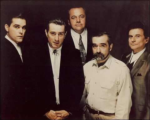 The Cast of Goodfellas, with Director, Martin Scorsese
