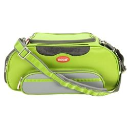 Teafco Aero-Pet Airline Approved Small Carrier in Kiwi Green - Carriers - Canvas Style Carriers Posh Puppy Boutique