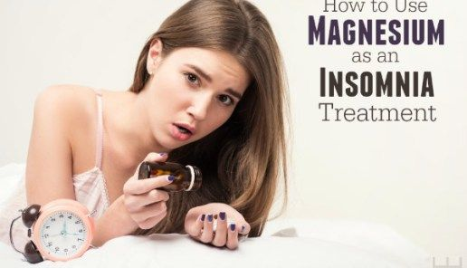 How to Use Magnesium as an Insomnia Treatment