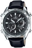 Casio Mens Edifice Leather Solar Watch EQW-T620L-1A (EQWT620L1A) - Watch Centre