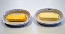 Как отличить маргарин от сливочного масла?