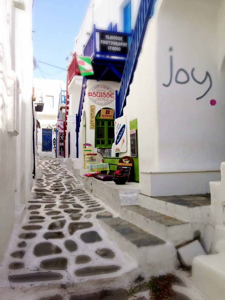 Joy is all we feel in Mykonos! Would you like to be here?