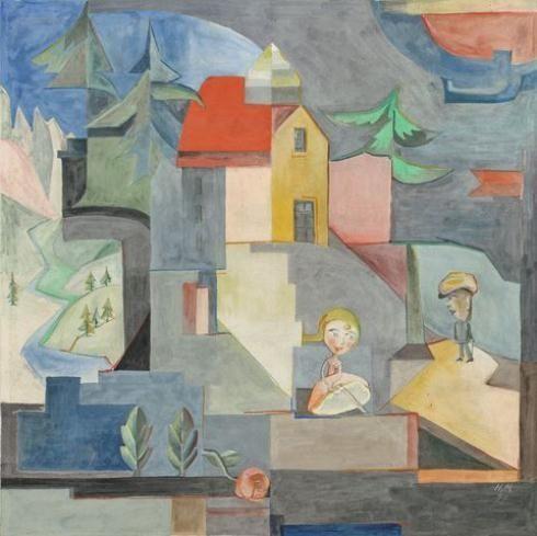 Hannah Höch, DADA IST AUF REISEN, 1927