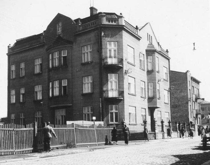 Gestapo HQ in Przemysl Ghetto