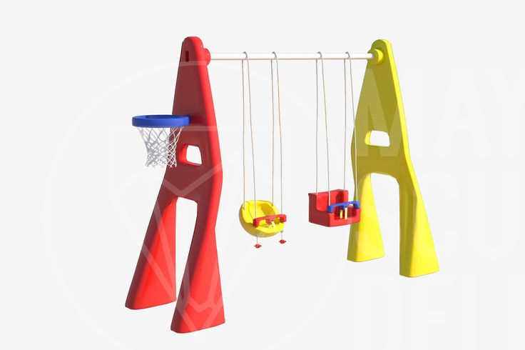 3D Model Plastic Playground - 3D Model
