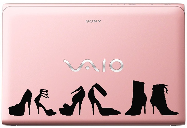 For the love of Shoes ~ Laptop decal by KATZEdecal