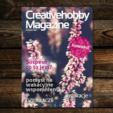 Wrześniowy numer Creativehobby Magazine do przeczytania za darmo: www.joomag.com/magazine/creativehobby-magazine-wrzesień-2016/0831673001473070938