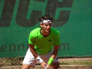 Tennis, Pellegrino sconfitto nel secondo turno a Pozzuoli. Festa per il primo punto ATP di un biscegliese