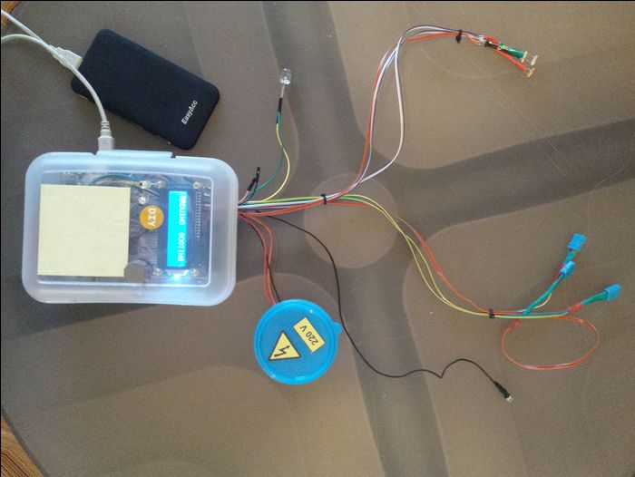 Smart home with Arduino Ethernet shield and Teleduino (with web app)
