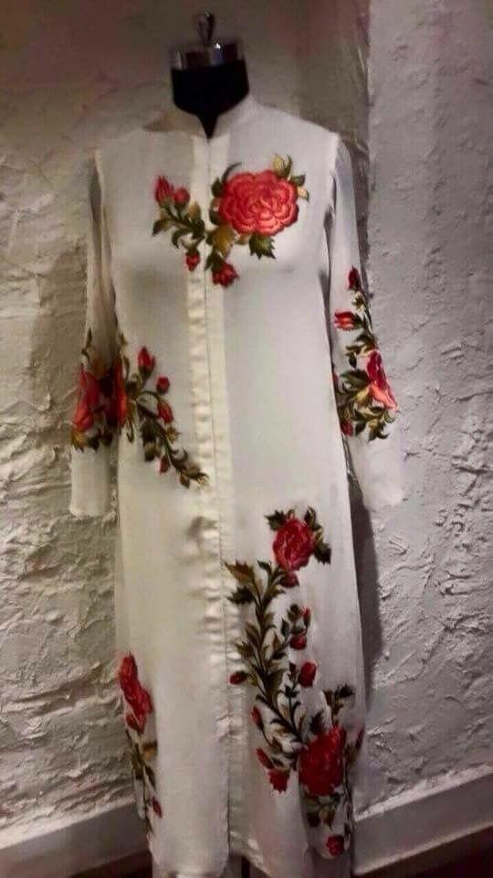 Floral kurta