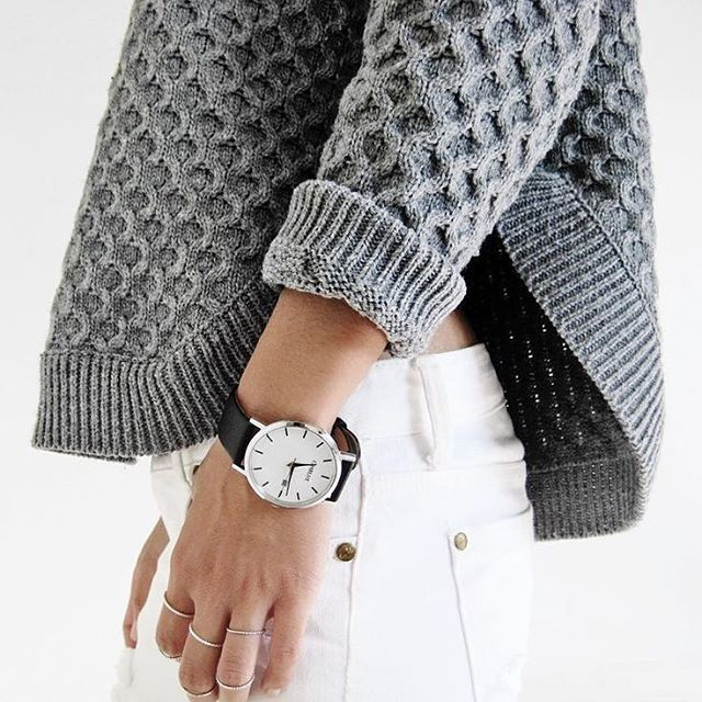 Who says white pants aren't for Winter. // Follow @ShopStyle on Instagram to shop this look