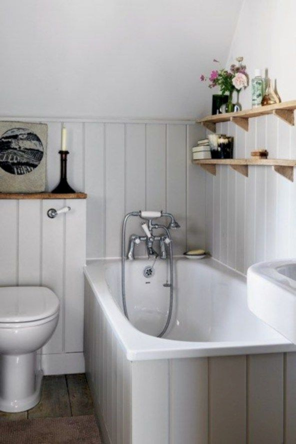 54 Small Country Bathroom Designs Ideas Roundecor Small