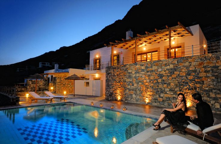 Imperia Villa with private pool in Elounda Maris Villas, Elounda Crete island. Elounda Maris Villas is an elegant retreat nestled in the Bay of Elounda Crete, Greece. Our luxury holiday villas effortlessly connect captivating charm and comfort