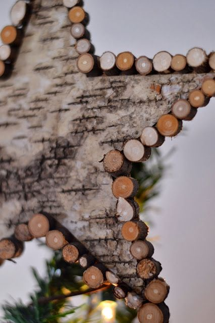Shabby Love: Birch Bark Tree Topper