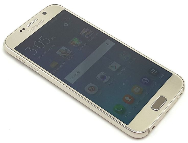 Us Cellular Samsung Galaxy S6 Gold 32GB Clean ESN Smartphone Android Phone #9325 #Samsung #Smartphone