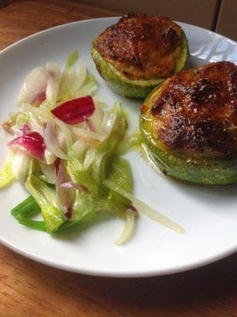 Zucchine ripiene - Stuffed zucchini - @foodbookscrafts