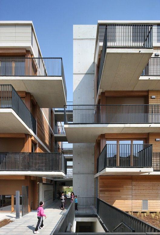 Conjunto de Viviendas Valenton / Gelin-Lafon:  Como diseñar un edificio que genere lazos sociales en lugar de un edificio de viviendas sociales?