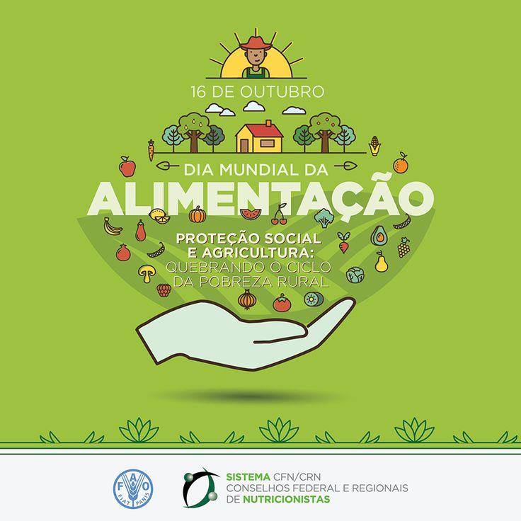 Conselho Federal de Nutricionistas – Dia Mundial da Alimentação – 16 de outubro