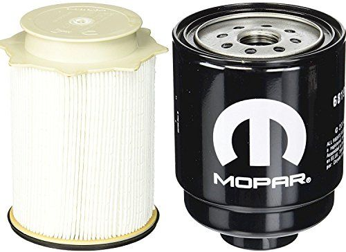 Dodge Ram 6.7 Liter Diesel Fuel Filter Water Separator Set Mopar OEM #Dodge #Liter #Diesel #Fuel #Filter #Water #Separator #Mopar