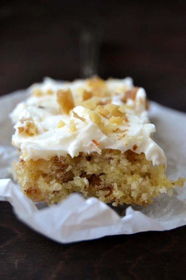 One Bowl Hummingbird Cake Bars Recipe Hummingbirds