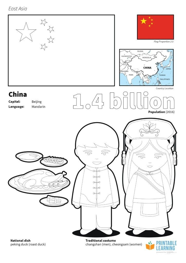 Flag Of China Coloring Page Flag Coloring Pages Coloring Pages