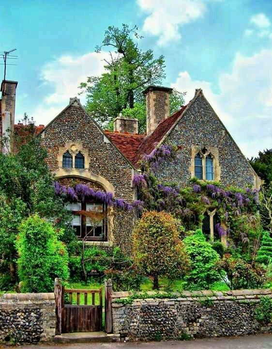 Classic Irish village house