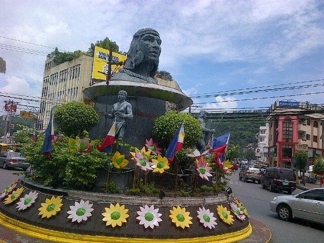 Olongapo City in Zambales, Philippines