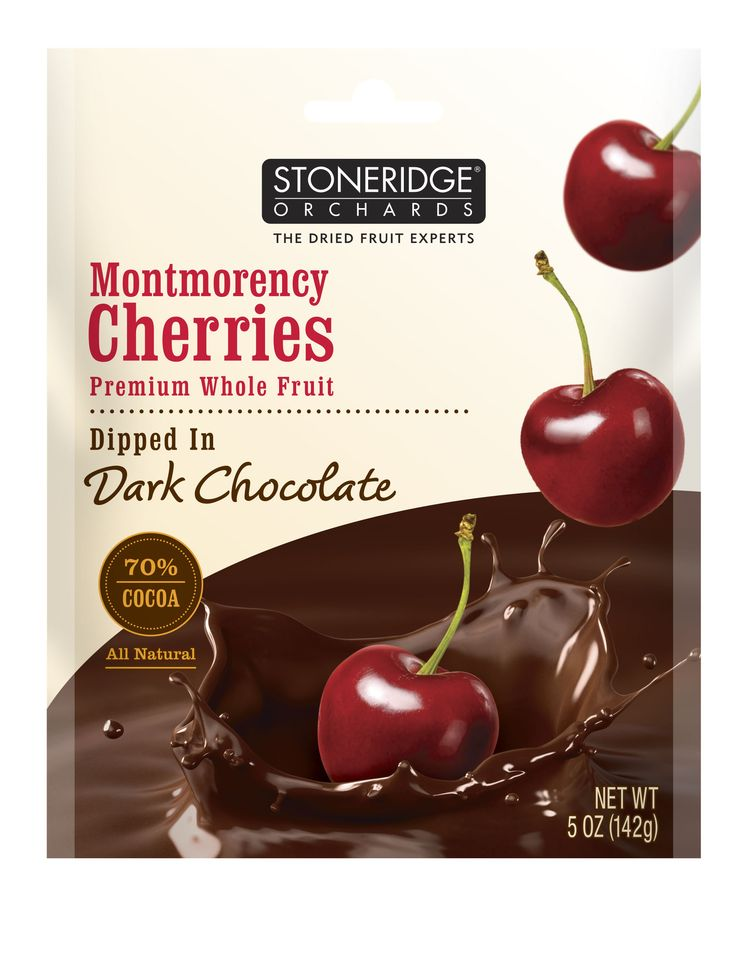 Stoneridge Orchards Montmorency Cherries Dipped In Dark Chocolate