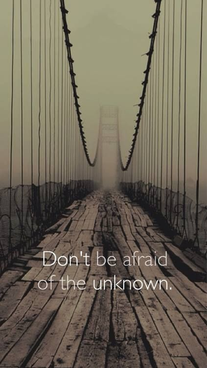 N'est pas peur de l'inconnu