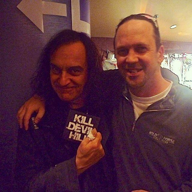 Kill Devil Hill with legendary drummer Vinny Appice!! 2012. #vinnyappice