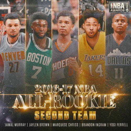 2016-2017 NBA All-Rookie Team (Second Team) http://ift.tt/2sRSYmI