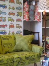 Design team fabrics - they are fabulous and South African!