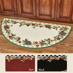 Sonoma Fruit Slice Rug 60 X 30 Rugs Red Kitchen Accessories