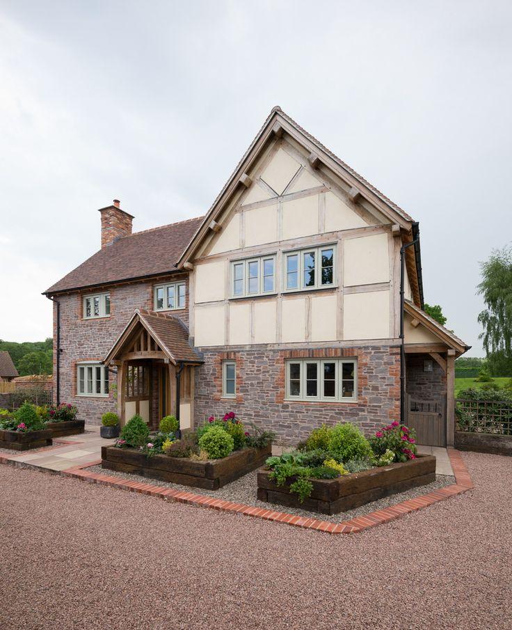 Oak framed farmhouse