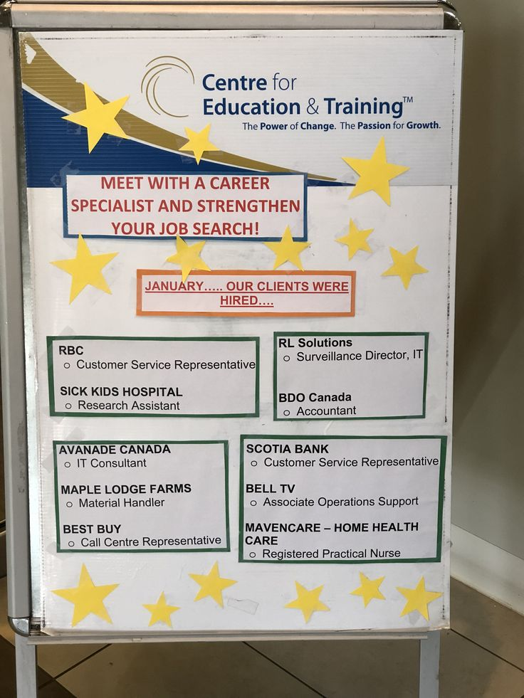 #TCET_BramptonSouth were proud to have placed job seeking clients in positions all over the GTA this past month! If you are looking for work, why not contact a Centre for Education & Training location near you to aid in your #JobSearch !!! http://www.tcet.com/jobs #careers #employment #ONjobs #JobHunt