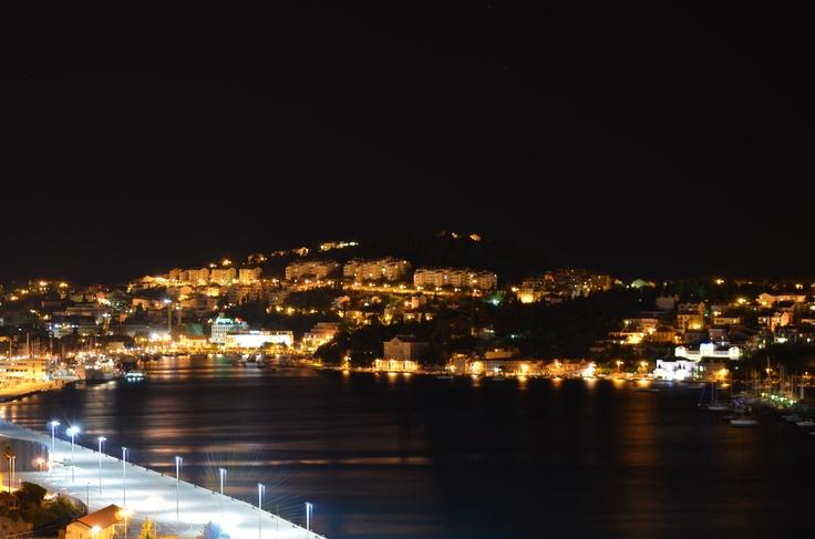 Vue du pont de nuit