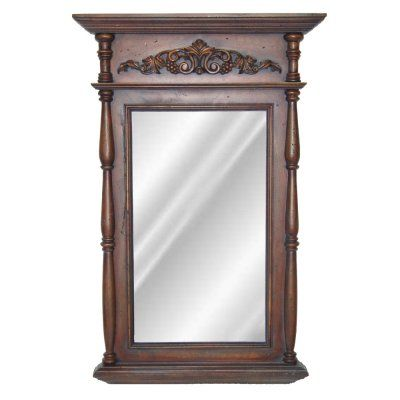 Hickory Manor House Classic Wall Mirror - 29.5W x 45.75H in. - HM6523BD, HMH195