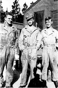 """Don Malarkey, Joe Toye and Skip Muck <3 """"Joe Toye, from Pittston, Pennsylvania, was Irish like me but far stronger, he was like sprung steel. Toughest guy in the unit, bar none, even if that brute strenght seemed to hide some wounds deep inside."""" - p.44-45 Easy Company Soldier by Don Malarkey"""