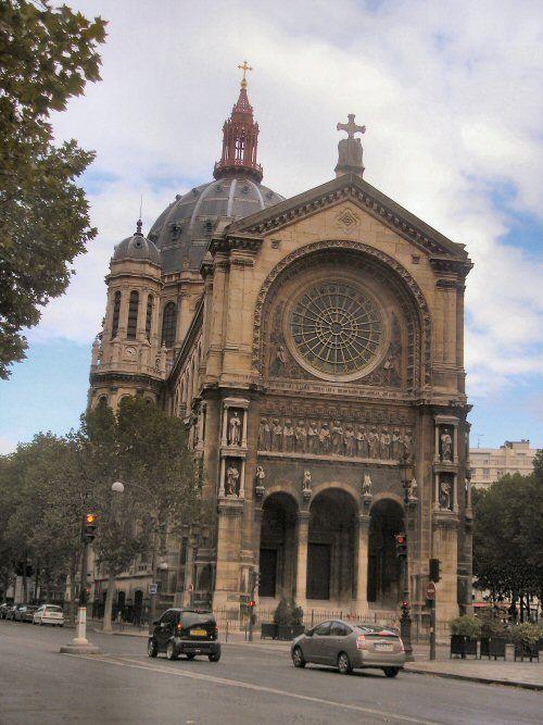 Paris : église Saint-Augustin.
